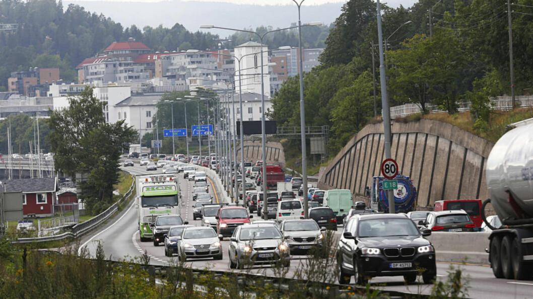 <strong>- NULLUTSLIPP:</strong> De borgerlige er enige om at det ikke skal selges nye bensin- eller dieselbiler fra 2025, skriver Dagens Næringsliv. Foto: Rolf Øhman / Aftenposten / NTB Scanpix