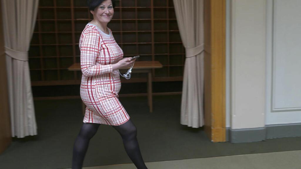 VIL GI MER: Helga Pedersen og Arbeiderpartiet vil gi tre milliarder mer til kommunene. Foto: Vidar Ruud / NTB scanpix