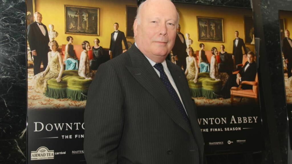SUKSESSRIK: Julian Fellowes, skuespiller, forfatter og filmregissør, er kjent som mannen bak tv-suksessen «Downton Abbey». Foto: NTB SCANPIX / Clinton H.Wallace/PMI/Splash