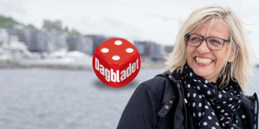 image: Anmeldelse: Lene Lauritsen Kjølner setter på deg rosa håndjern og lenker deg til solveggen