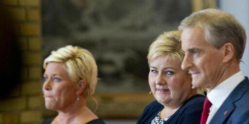 image: Erna og Siv vinner - Jonas taper