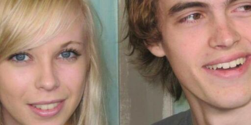image: De dro på sin første kjærestetur for fem år siden til Utøya. Bare én kom tilbake