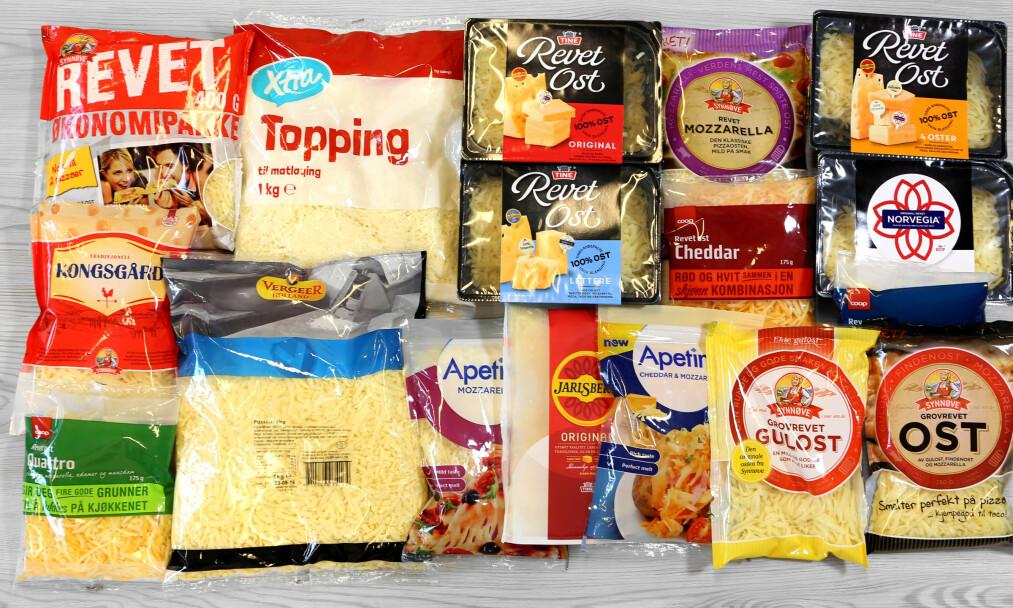 <strong>NÆRINGSINNHOLD:</strong> Velg ekte ost fremfor topping, er ernæringsfysiologenes råd. Foto: ERIK HELGENESET