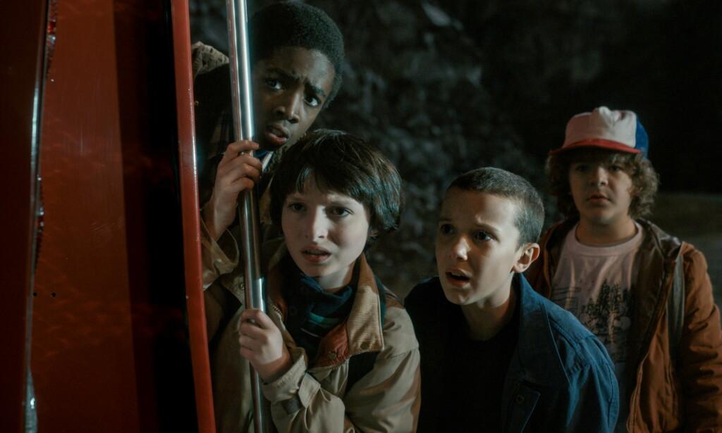 NOSTALGI-SYRETRIPP: Netflix-serien «Stranger Things» har blitt mye sett og omtalt i sommer. Foto: Netflix