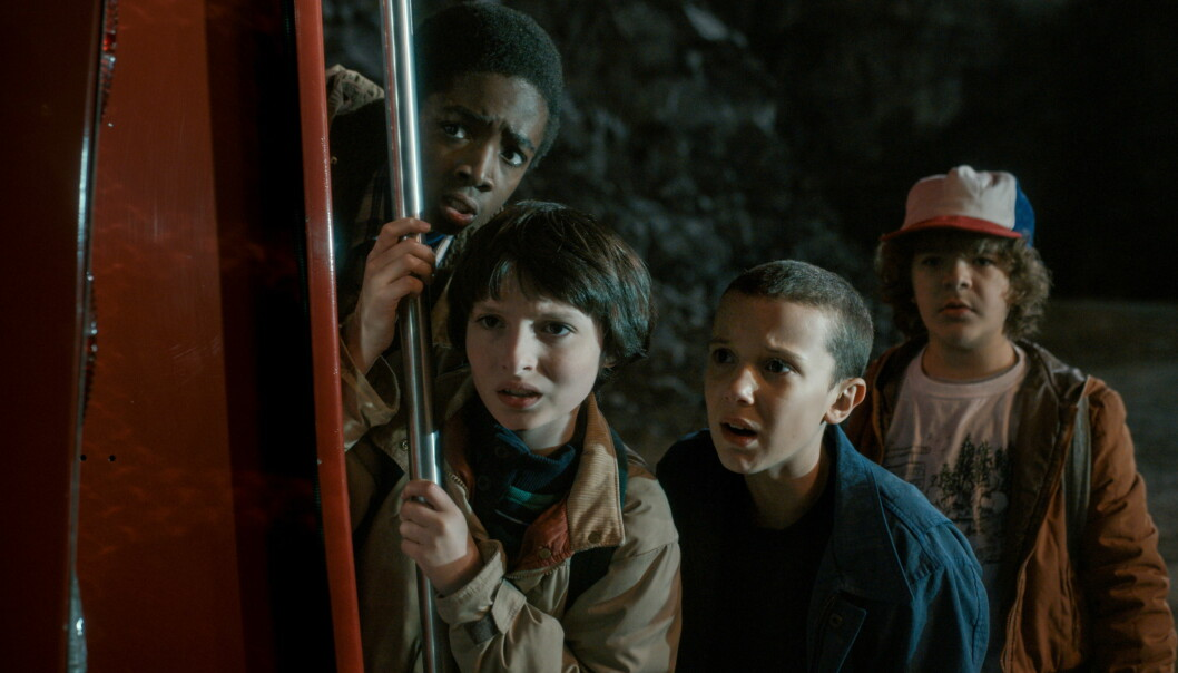 <strong>NOSTALGI-SYRETRIPP:</strong> Netflix-serien «Stranger Things» har blitt mye sett og omtalt i sommer. Foto: Netflix