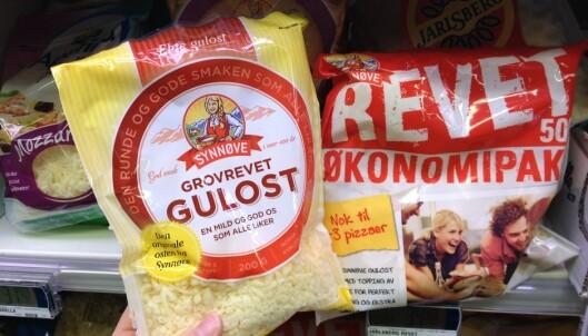 Det er ikke ost alt som smelter - ser du forskjellen?