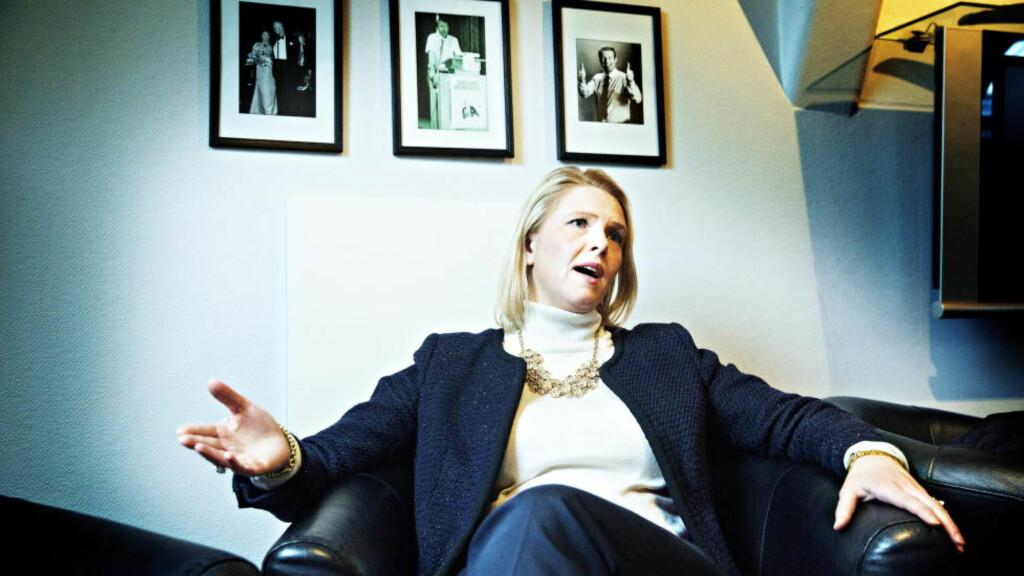 FÅR KRITIKK: Ansatte i Sylvi Listhaugs eget direktorat reagerer på hennes forslag. Foto: Nina Hansen / Dagbladet