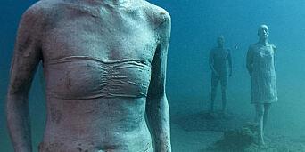 image: 39 000 nordmenn reiser til Lanzarote hvert år. Nå senkes 300 skulpturer ned i havet rett utenfor