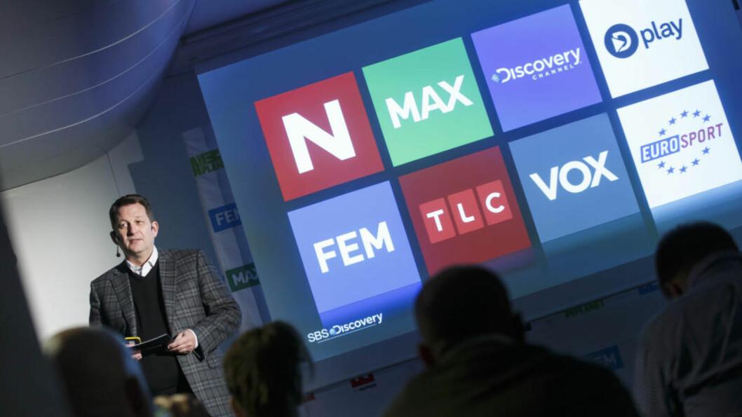 <strong>INGEN LØSNING:</strong> Sjef i TVNorge og SBS Discovery, Harald Strømme, forhandler fortsatt med Canal Digital for å finne en løsning. Foto: Heiko Junge / NTB scanpix