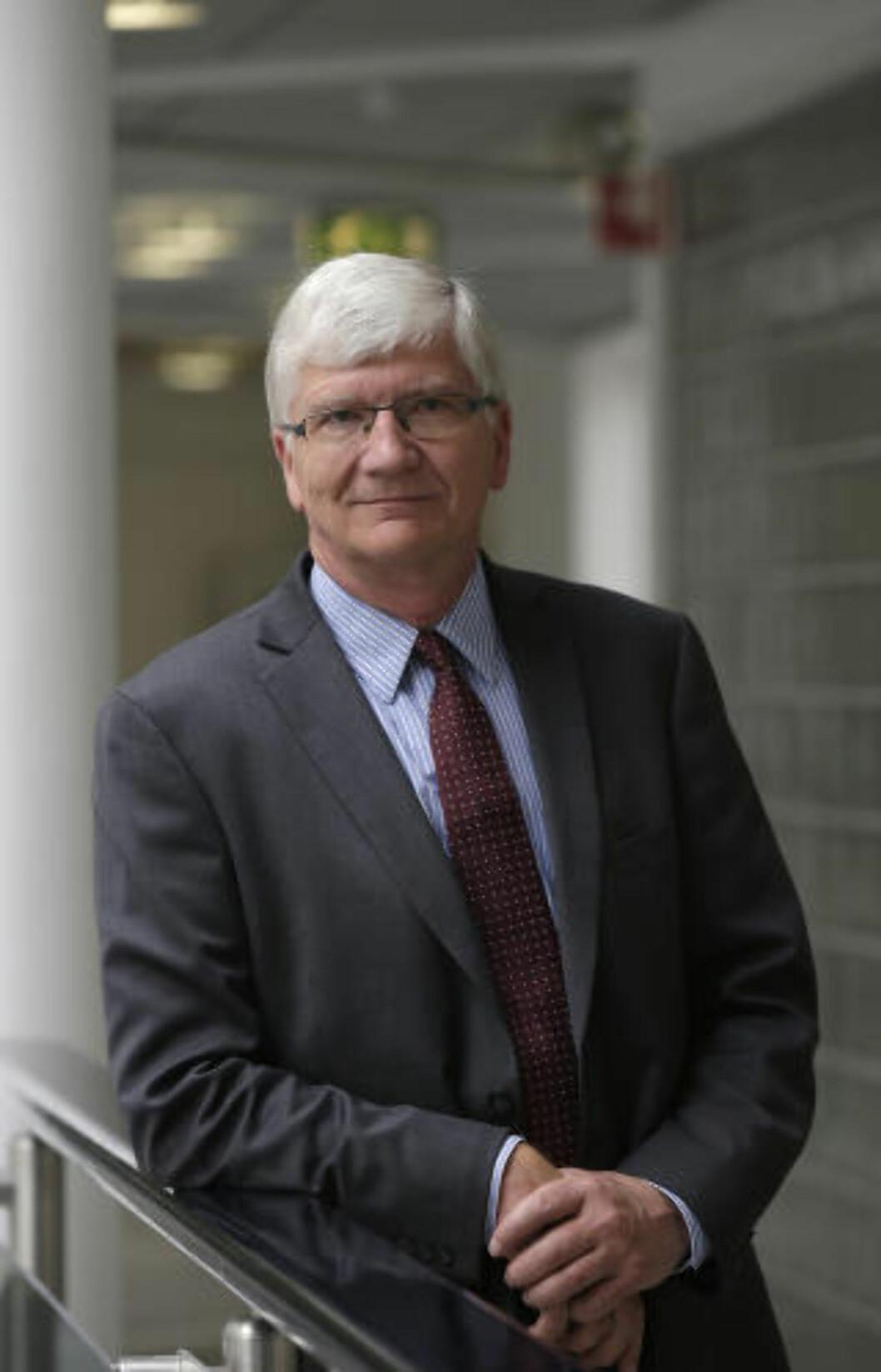 <strong>UROLIG:</strong> Steinar Juel er tidligere sjeføkonom i norgeskontoret til den svanke storbanken Nordea. Foto: Vidar Ruud / NTB scanpix