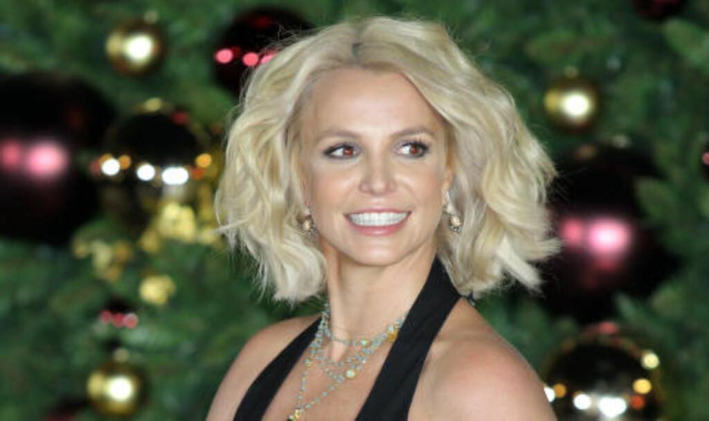 SAMARBEIDER MED NORSK KASJMIRKATT: Britney Spears. Foto: NTB Scanpix