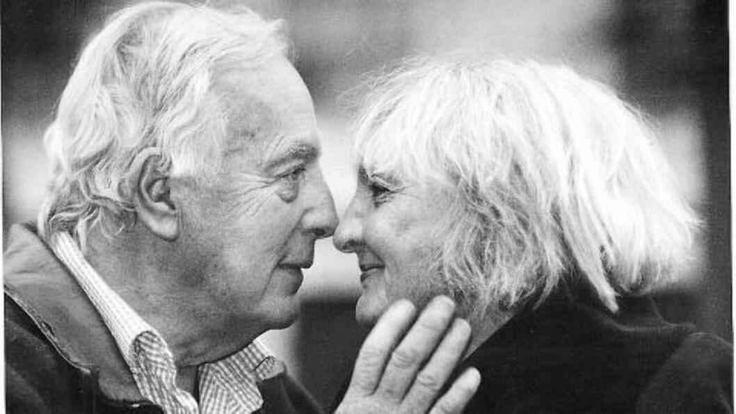 <strong>GIFT:</strong>  Sossen Krohg og Guy Krohg var gift fra 1949 til hans død i 2002. Foto: Dagbaldet