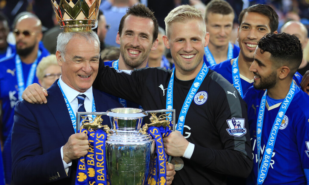 VIL IKKE SELGE: Leicester City-manager Claudio Ranieri ønsker ikke å selge Kasper Schmeichel. Foto: NTB Scanpix