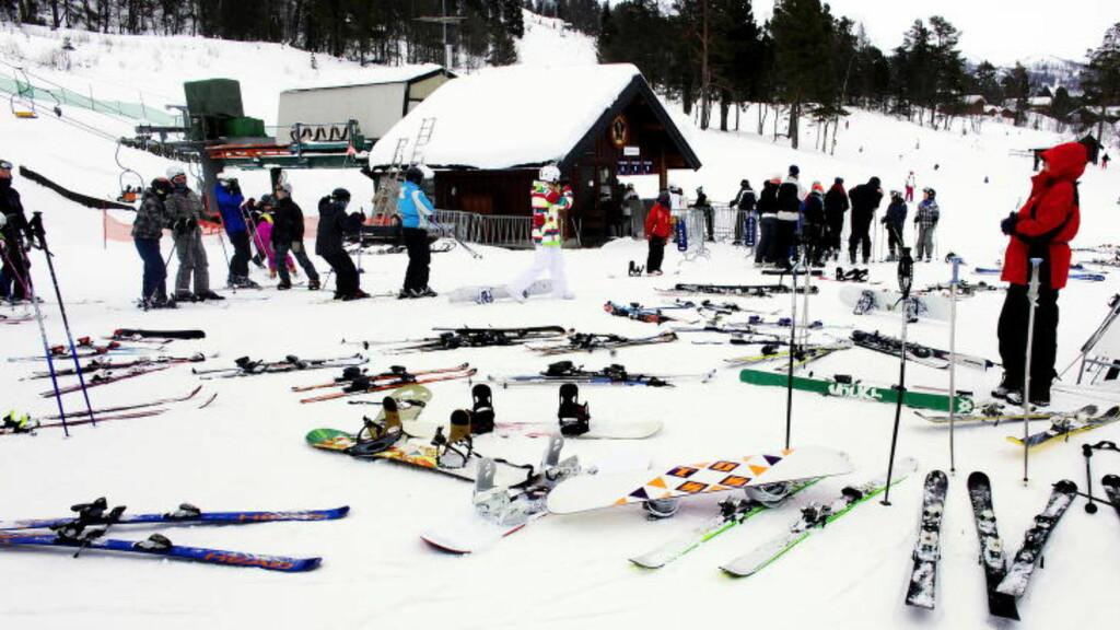 VINTERHVERDAG:  Mer enn 80 prosent av alle unger bruker ski. FOTO: Ole C. H. Thomassen / Dagbladet.