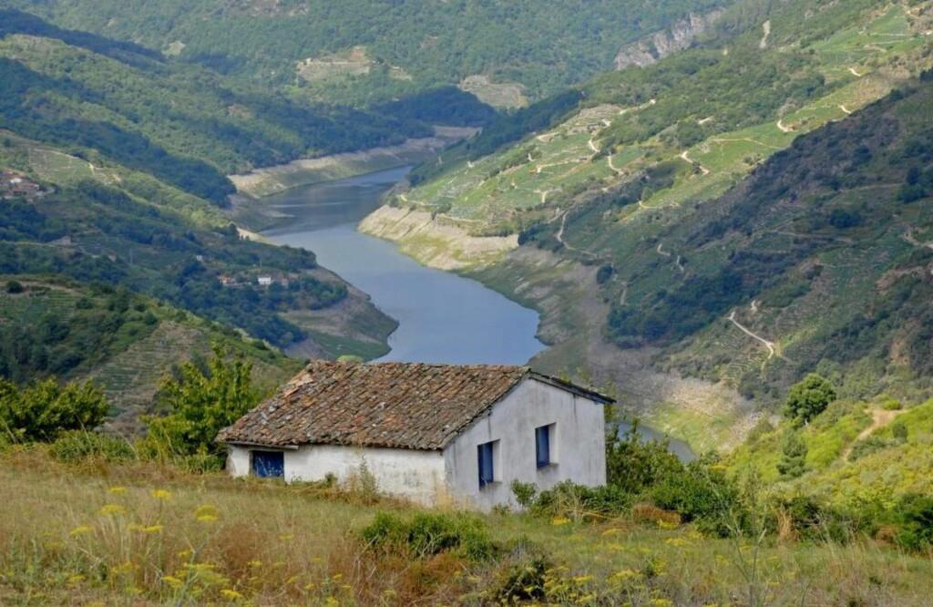 NYE VINOMRÅDER:  Méntrida, Ribeira Sacra, Bierzo og Toro lager flotte rødviner. Her fra Sildalen i Ribeira Sacra, Galicia. Foto: M & M VALLEDOR / NTB SCANPIX