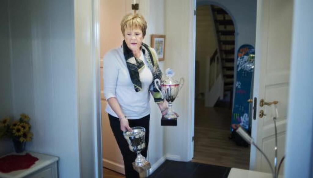 BEKYMRET: Mamma Marit Norendal er urolig for datteren.  Foto: Benjamin A. Ward / Dagbladet