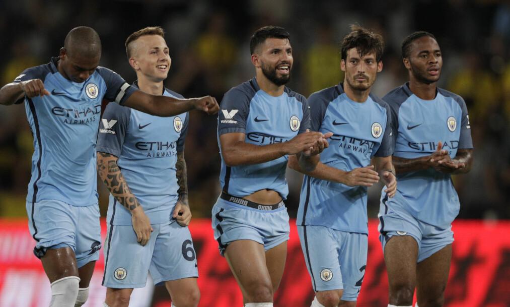 <strong>TØFFE:</strong> Flere supporterklubber tror det blir tøft å møte Manchester City denne sesongen. Foto: Victor Fraile/BPI/REX/Shutterstock&nbsp;