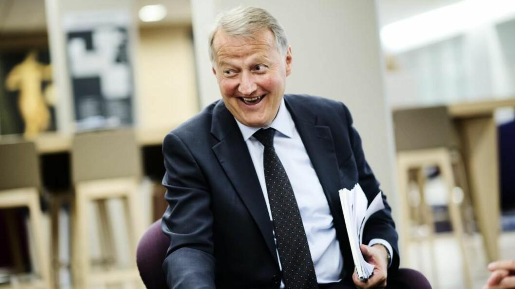 <strong>Rune Bjerke:</strong>  Vil ikke betale kundene erstatning. Foto: Eivind Yggeseth, Finansavisen.