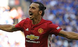 <strong>VANSKELIGE:</strong> Manchester United og Zlatan blir seige å slå i år. Foto: Kevin Quigley / Daily Mail&nbsp;