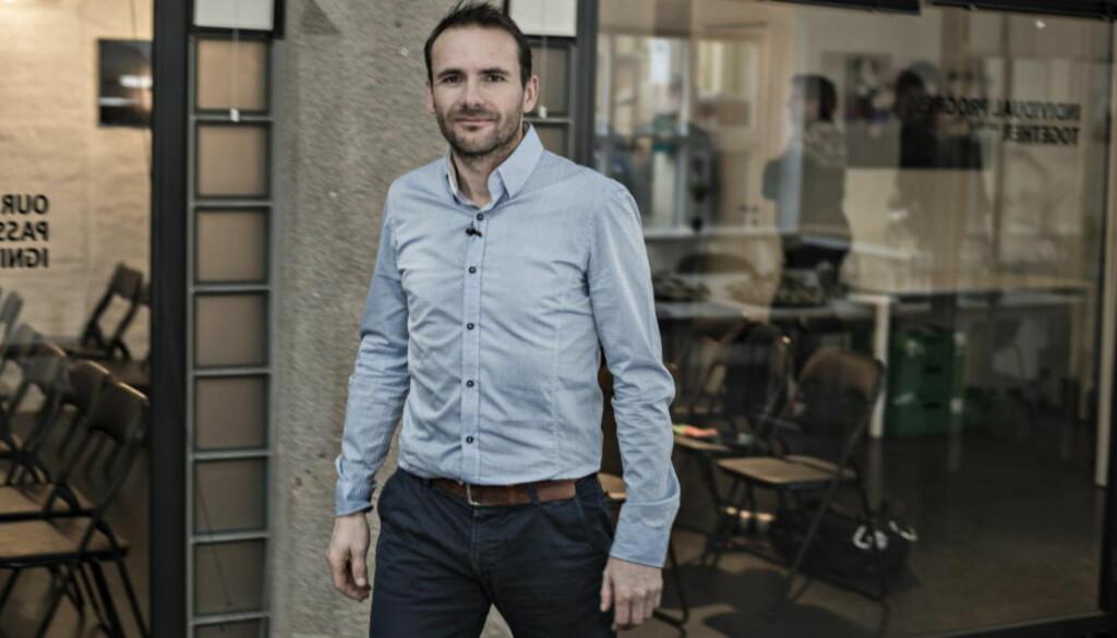 FOREDRAG I OSLO:  Raphael Poirée. Foto: Hans Arne Vedlog