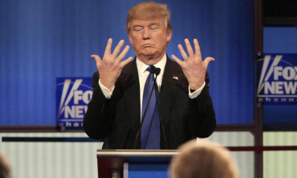 image: Trump om størrelsen på det han har i buksa: - Jeg garanterer at det ikke er noen problemer