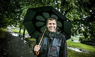 LOVER NEDBØR: Høstferien blir våt på Sør- og Østlandet, sier statsmeteorolog Kristian Gislefoss. Foto: Christian Roth Christensen / Dagbladet