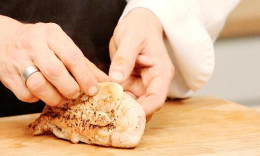 image: Garantert saftig: Slik steker du kyllingfileten
