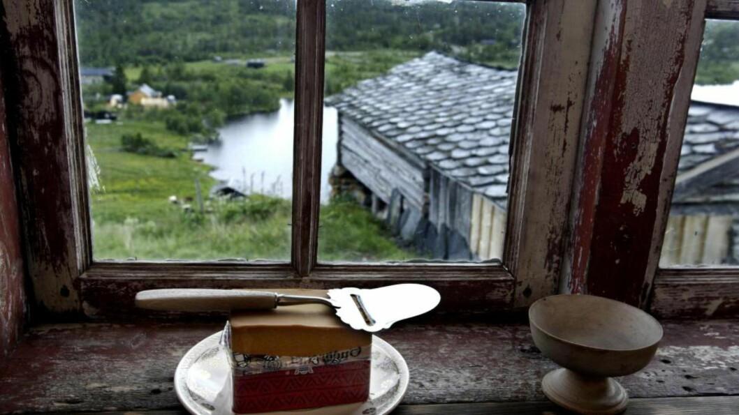 <strong>HEILNORSK:</strong>  Ostehøvelen er høyt elsket og kan brukes til langt mer enn å skjære ost. FOTO:  KNUT SNARE