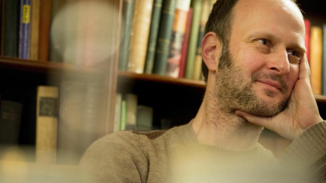 <strong>NOVELLEDEBUTANT:</strong> Forlagsmann Geir Nummedal debuterer som novellist. Tidligere har han utgitt romanen «Hun er der hele tiden» (2012).Foto: Torstein Bøe / NTB scanpix