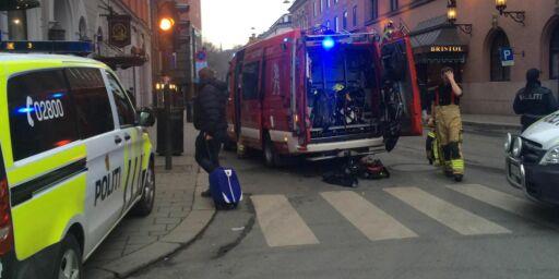 image: Brann på Hotel Bristol, over 200 evakuert
