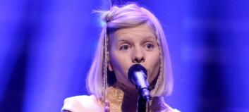 Aurora spilte hos Jimmy Fallon i natt