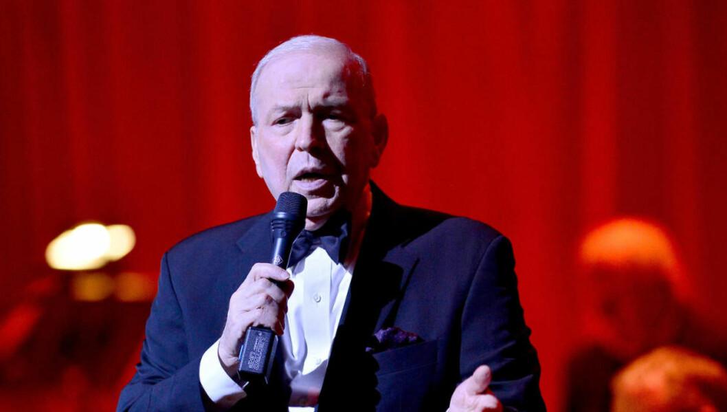 <strong>DØD:</strong> Frank Sinatra Jr. døde uventet av et hjerteinfarkt onsdag. Her er han fotogafert i Knight Concert Hall i Miami 11. mars. Foto:  Johnny Louis/WENN.com