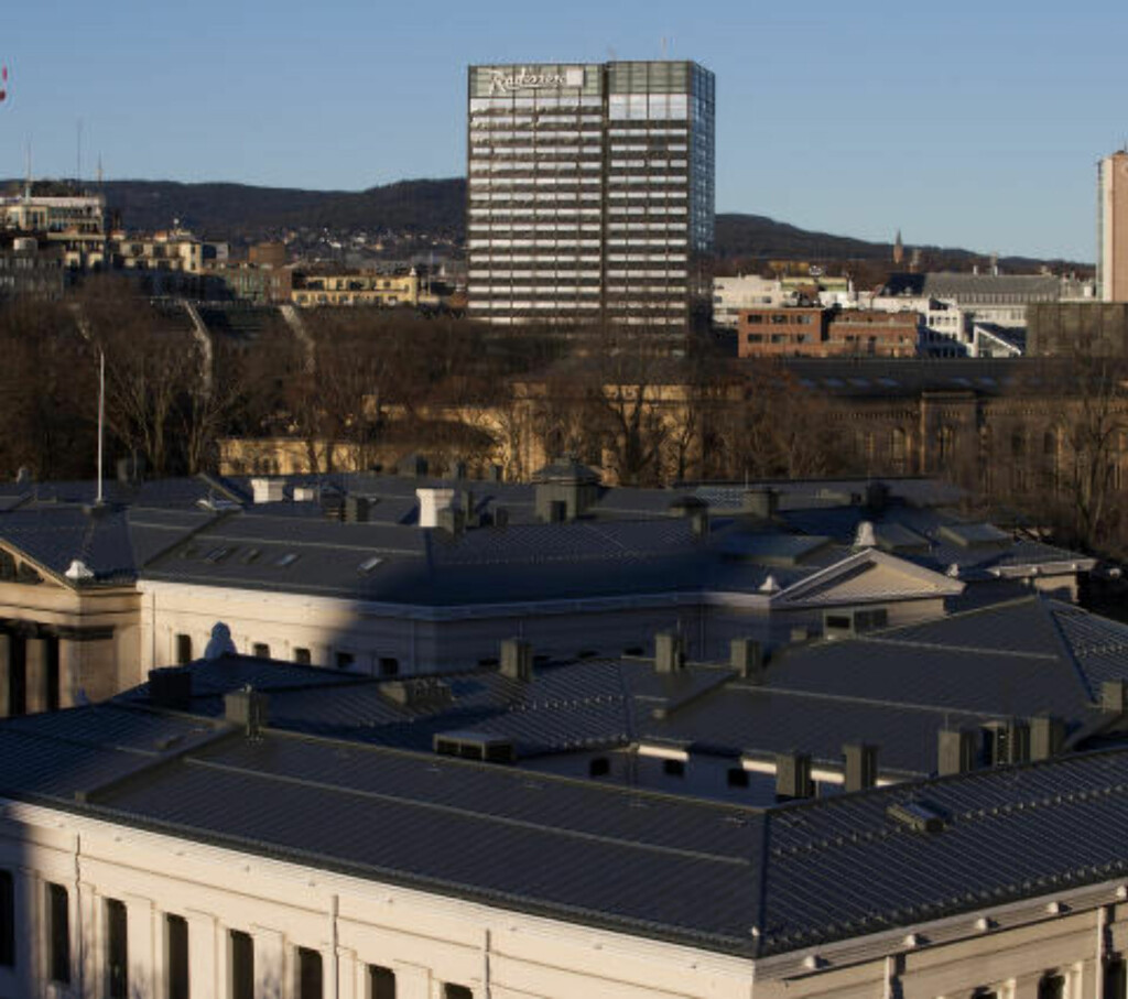 OGSÅ PROBLEMER: Også ansatte ved Radisson Blu Scandinavia Hotel (gamle SAS-hotellet) er misfornøyde. Foto: HÅKON MOSVOLD LARSEN/NTB SCANPIX