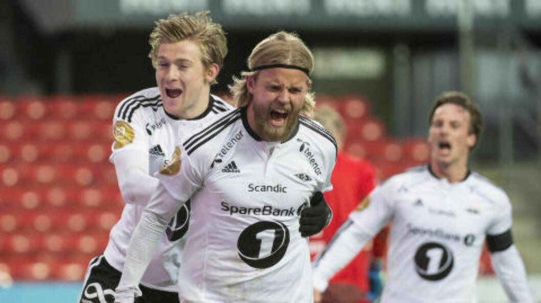 <strong>MATCHVINNER:</strong> Christian Gytkjær. Foto: Ned Alley / NTB scanpix