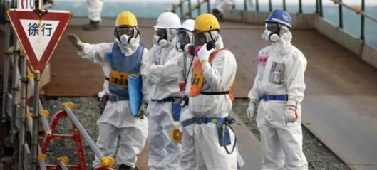 Fukushima-robotene  som sendes inn for å lete etter radioaktivt stoff dør på stedet