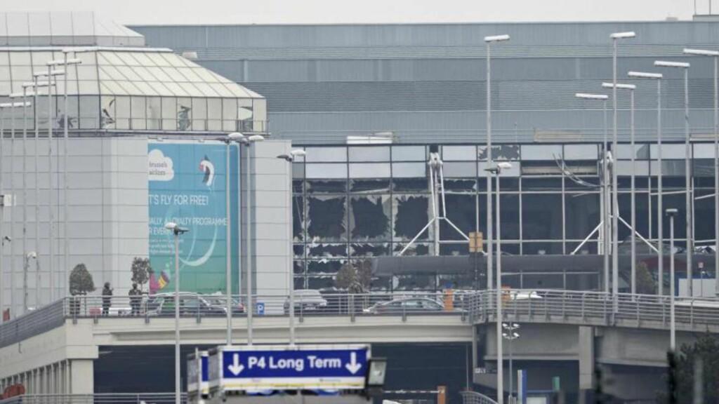 KRAFTIG BOMBE: Bombene som rammet Brussel på tirsdag skal være av typen TATP, også kjent som Satans mor. Minst 31 mennesker mistet livet i angrepet og over 250 ble såret. Foto: AFP PHOTO / BELGA / DIRK WAEM / Belgium OUT