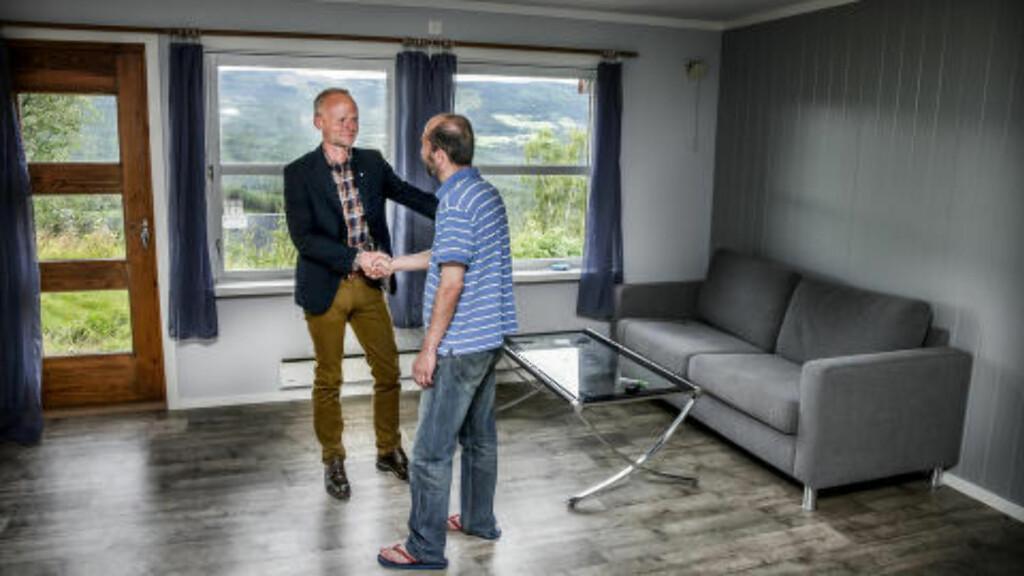 UTFORDRENDE:  Å finne egnede boliger til nyankomne flyktninger er en stor utfordring, sier ordfører Kjell Berge Melbybråten. (Ap) i Øystre Slidre.   FOTO STEIN J. BJØRGE/Aftenposten/NTB Scanpix