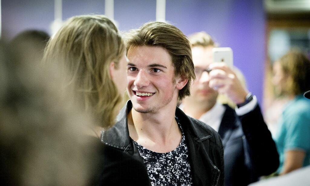 SKAL SPILLE SOLDAT: Thomas Hayes skal spille ung soldat i ny serie på TV 3. Foto: Bjørn Langsem/Dagbladet