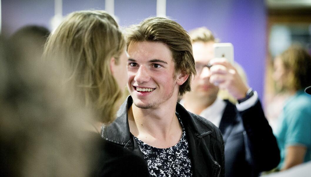 <strong>SKAL SPILLE SOLDAT:</strong> Thomas Hayes skal spille ung soldat i ny serie på TV 3. &nbsp;Foto: Bjørn Langsem/Dagbladet