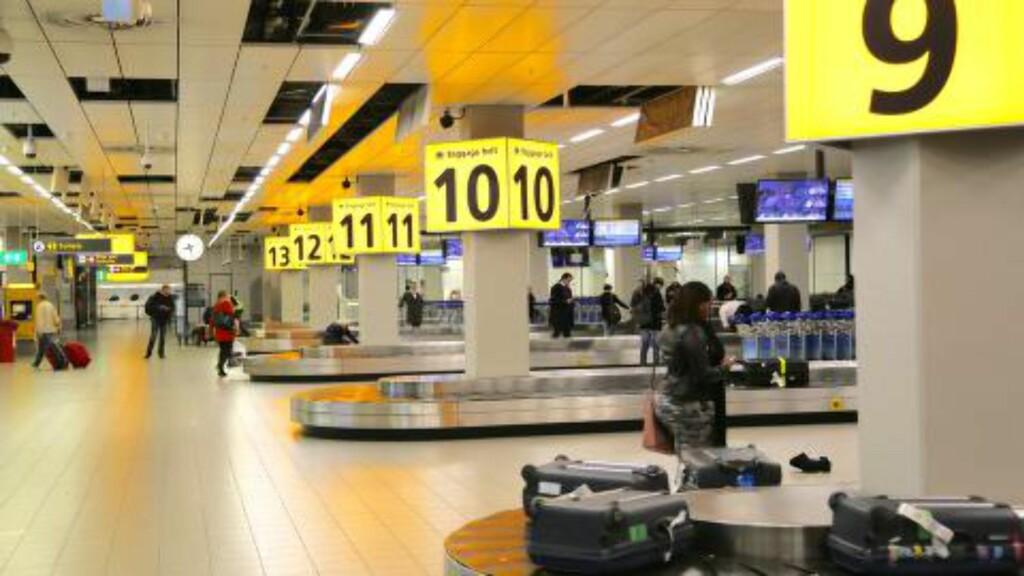 TAPT BAGASJE: Husk å melde fra med en gang du oppdager at bagasje er tapt eller skadet. Husk også at du aldri må reise noe sted uten reiseforsikring. Foto: ODD ROAR LANGE