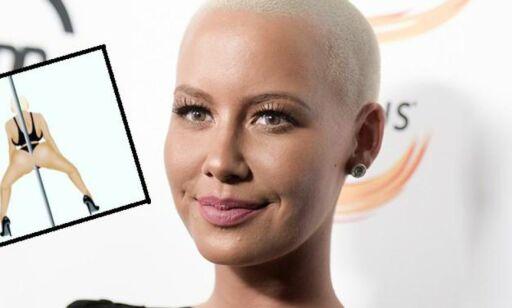 image: Amber Rose har laget så kontroversielle emojies at de får 17 års aldersgrense