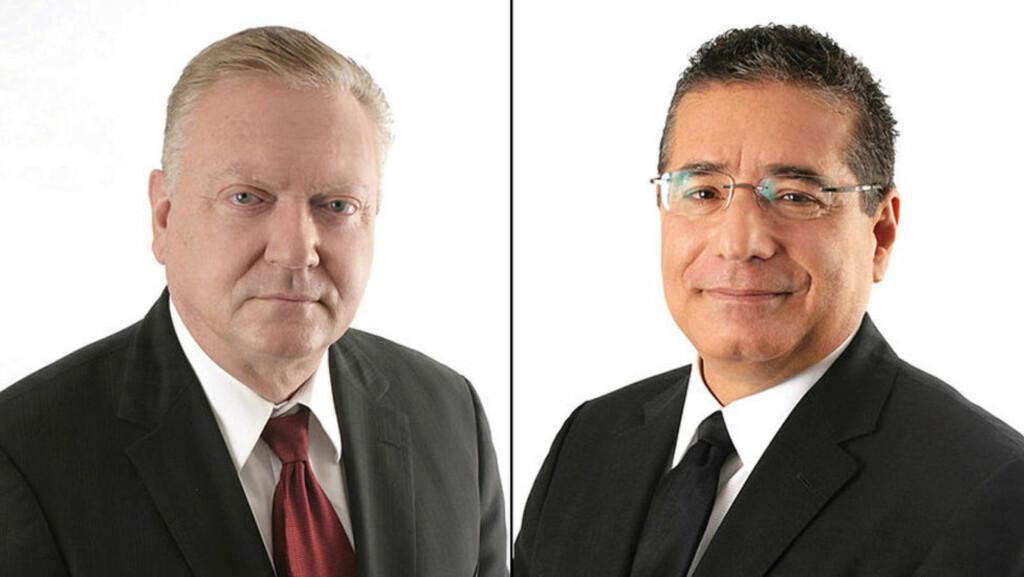 ADVOKATENE I PANAMA: De to kompanjongene Jurgen Mossack (68) og Ramon Fonseca (63) startet advokatfirmaet Mossack Fonesca & Co i 1986. I 20 år har de lurt bort penger for rike folk i alle posisjoner, ifølge det som kalles tidenes største dokumentlekkasje. Foto: Wikipedia