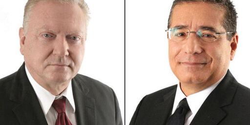 image: Dette er advokatpiratene i skatteparadiset: Én er sønn av SS-offiser, den andre er prisbelønt forfatter