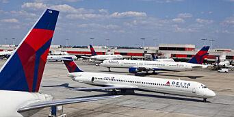 image: Er den travleste flyplassen i verden. Men nesten ingen skal til utlandet