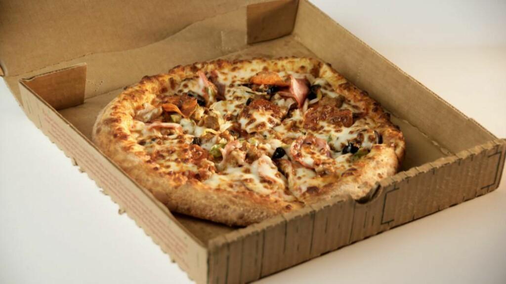 PIZZAPANT: København innfører pant på blant annet pizzaesker. Foto: NTB scanpix