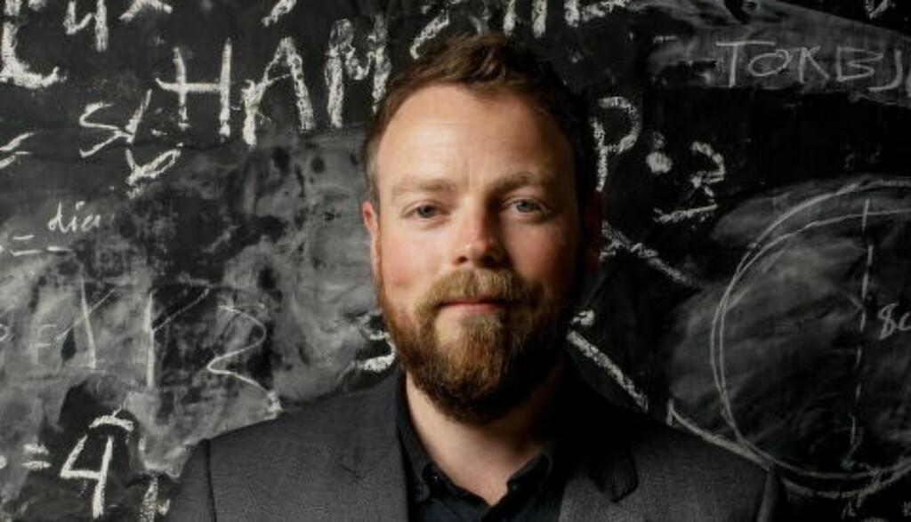 SVARER TAJIK: Kunnskapsminister Thorbjørn Røe Isaksen sier han tar for gitt at Sylvi Listhaug vet å skille politikk fra forskning. Foto: Siv Johanne Seglem /Dagbladet