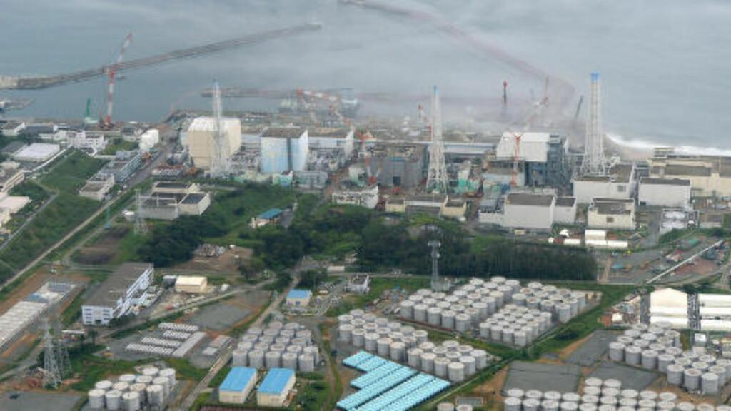 ULYKKE: Fukushima-ulykken inntraff 11.mars 2011 etter at sentrale elektriske rom ved atomkraftverket ble oversvømt som følge av en tsunami. FOTO: REUTERS / Kyodo / NTB scanpix