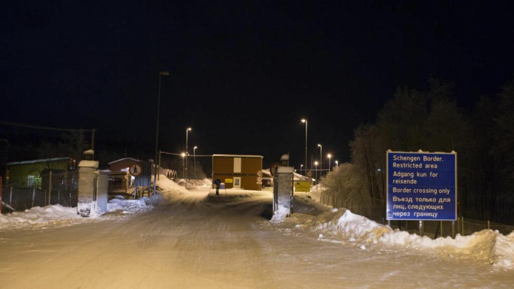 STORSKOG: Grensen til Russland på Storskog. Foto: Torstein Bøe / NTB scanpix