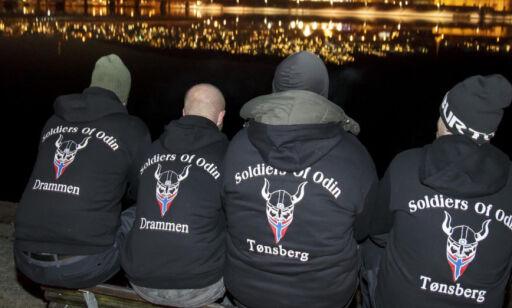 image: Politiet frykter bråk utløst av grupper som Odins soldater