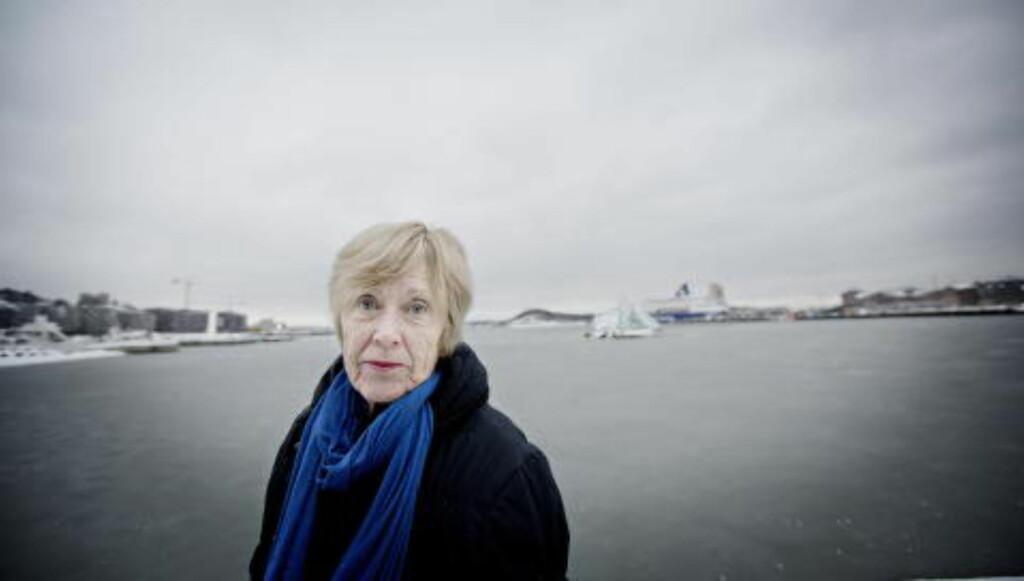 KREVER FORANDRING: Menneskerettsekspert Gro Hillestad Thune jobbet ved Den europeiske menneskerettighetsdomstolen i Strasbourg i 16 år. Hun er sterkt kritisk til barnevernets framferd i tvangsvedtakssaker, Foto: Anita Arntzen